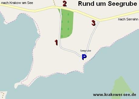 Karte Wandern Rund um Seegrube